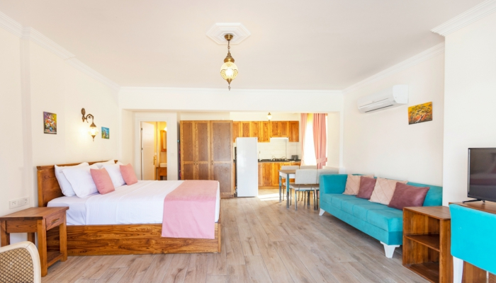Lilly Apart 2, Stunning 1+0 apartment near of Calis Beach
