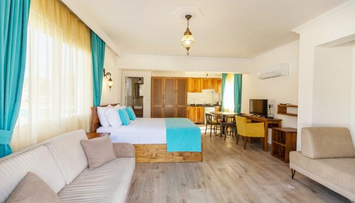 Lilly Apart 4, Stunning 1+0 apartment near of Calis Beach